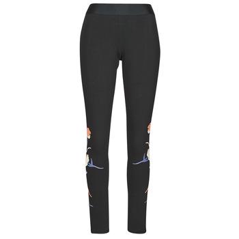 Odjeća Žene  Tajice adidas Performance FLORL GFX TIGHT Crna