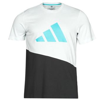 Odjeća Muškarci  Majice kratkih rukava adidas Performance FUTURE BLK TEE Bijela / Křišťál