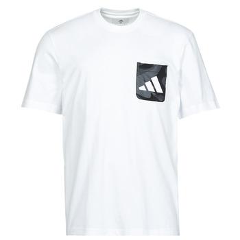 Odjeća Muškarci  Majice kratkih rukava adidas Performance CAMO PKT TEE Bijela