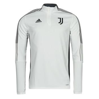 Odjeća Gornji dijelovi trenirke adidas Performance JUVE TR TOP Bijela / Essentiel