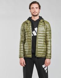 Odjeća Muškarci  Pernate jakne adidas Performance VARILITE JACKET Maslinasta boja / Focus