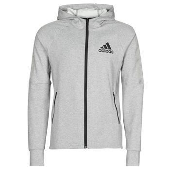 Odjeća Muškarci  Gornji dijelovi trenirke adidas Performance M MT FZ HD Ružičasta / Siva