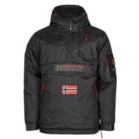 Odjeća Muškarci  Parke Geographical Norway BARKER Crna