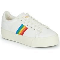 Obuća Žene  Niske tenisice Gola ORCHID PLATFORM RAINBOW Bijela / Multicolour