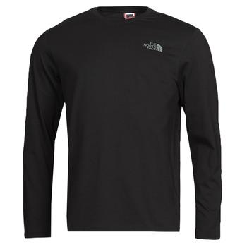Odjeća Muškarci  Majice dugih rukava The North Face L/S EASY TEE Crna
