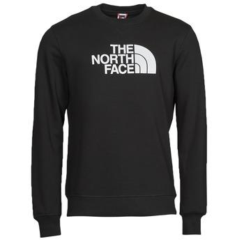 Odjeća Muškarci  Sportske majice The North Face DREW PEAK CREW Crna / Bijela