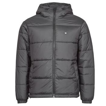 Odjeća Muškarci  Pernate jakne adidas Originals PAD HOODED PUFF Crna