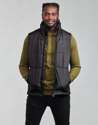 Odjeća Muškarci  Pernate jakne adidas Originals PADDED VEST Crna