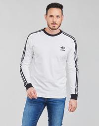 Odjeća Muškarci  Majice dugih rukava adidas Originals 3-STRIPES LS T Bijela
