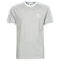Odjeća Muškarci  Majice kratkih rukava adidas Originals 3-STRIPES TEE Ružičasta / Siva