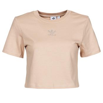 Odjeća Žene  Majice kratkih rukava adidas Originals CROPPED  TEE Bež
