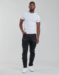 Odjeća Muškarci  Cargo hlače G-Star Raw 3D STRAIGHT TAPERED CARGO Crna