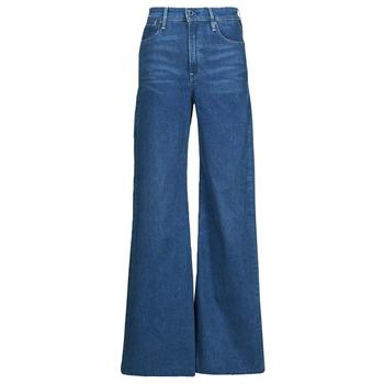 Odjeća Žene  Bootcut traperice G-Star Raw DECK ULTRA HIGH WIDE LEG Blue