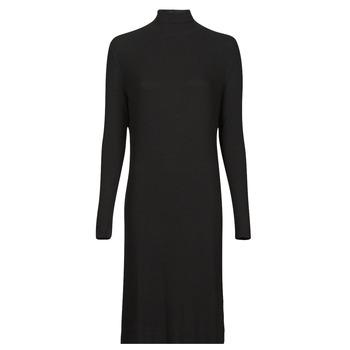 Odjeća Žene  Duge haljine G-Star Raw RIB MOCK SLIM DRESS Crna