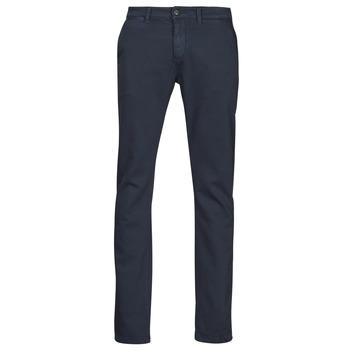 Odjeća Muškarci  Chino hlačei hlače mrkva kroja Le Temps des Cerises JHKURT Blue