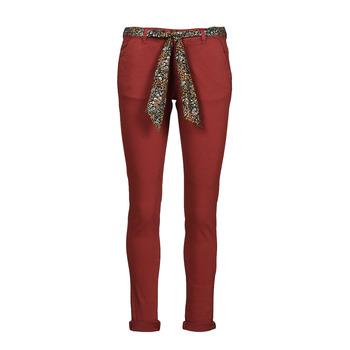 Odjeća Žene  Chino hlačei hlače mrkva kroja Le Temps des Cerises LIDY900 Bordo