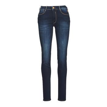 Odjeća Žene  Slim traperice Le Temps des Cerises PULP HIGH NAPLES Blue / Crna