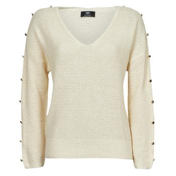 Odjeća Žene  Puloveri Le Temps des Cerises SIBEL Bijela