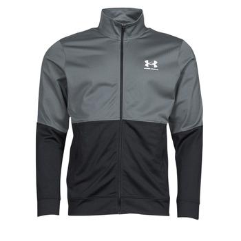 Odjeća Muškarci  Sportske majice Under Armour UA PIQUE TRACK JACKET Siva / Bijela