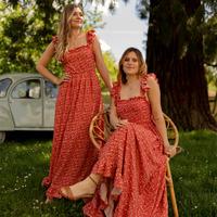 Odjeća Žene  Duge haljine Céleste AURORE Red