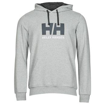 Odjeća Muškarci  Sportske majice Helly Hansen HH LOGO HOODIE Siva