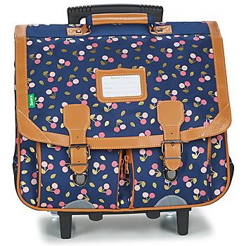 Torbe Djevojčica (Školske) torbe s kotačićima Tann's ALEXA TROLLEY CARTABLE 41 CM Blue