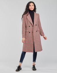 Odjeća Žene  Kaputi Betty London PIVENE Crna / Red