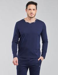 Odjeća Muškarci  Majice dugih rukava Polo Ralph Lauren CREEW SLEEP TOP Blue