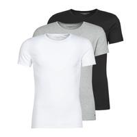 Odjeća Muškarci  Majice kratkih rukava Tommy Hilfiger STRETCH TEE X3 Bijela / Siva / Crna