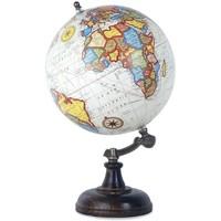 Dom Dekorativni predmeti  Signes Grimalt Svjetska Globe Bijela 20 Cm Multicolor