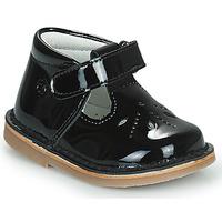 Obuća Djevojčica Balerinke i Mary Jane cipele Citrouille et Compagnie OTAL Crna / Lak