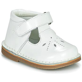 Obuća Djevojčica Balerinke i Mary Jane cipele Citrouille et Compagnie OTAL Bijela / Lak