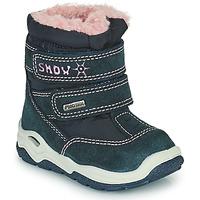 Obuća Djevojčica Čizme za snijeg Citrouille et Compagnie POUDOU Blue / Ružičasta