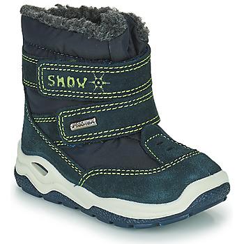 Obuća Dječak  Čizme za snijeg Citrouille et Compagnie POUDOU Blue / Zelena