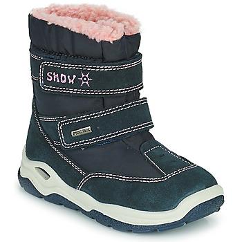 Obuća Dječak  Čizme za snijeg Citrouille et Compagnie POUDOU Blue / Ružičasta