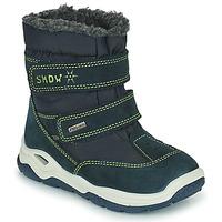 Obuća Djevojčica Čizme za snijeg Citrouille et Compagnie POUDOU Blue / Zelena