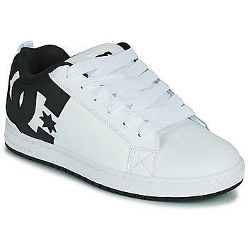 Obuća Muškarci  Obuća za skateboarding DC Shoes COURT GRAFFIK Bijela / Crna