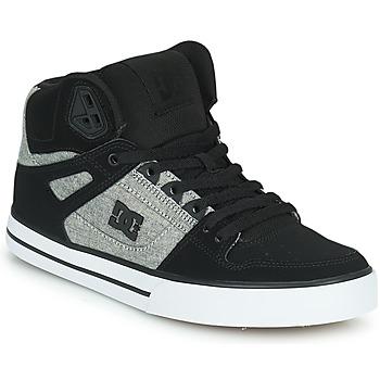 Obuća Muškarci  Visoke tenisice DC Shoes PURE HIGH-TOP WC Crna / Siva