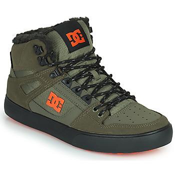 Obuća Muškarci  Visoke tenisice DC Shoes PURE HIGH-TOP WC WNT Kaki / Crna