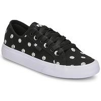 Obuća Žene  Niske tenisice DC Shoes MANUAL TXSE Crna / Bijela