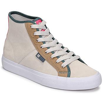 Obuća Žene  Visoke tenisice DC Shoes MANUAL HI SE Bež