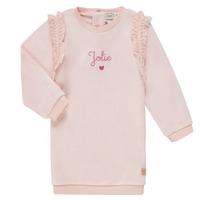 Odjeća Djevojčica Kratke haljine Carrément Beau ABRICOT Ružičasta