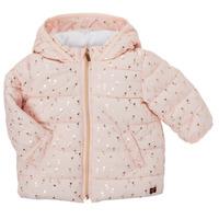 Odjeća Djevojčica Pernate jakne Carrément Beau ACAJOU Ružičasta
