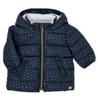 Odjeća Djevojčica Pernate jakne Carrément Beau AIGUE-MARINE Blue