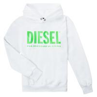 Odjeća Djeca Sportske majice Diesel SDIVISION LOGOX OVER Bijela