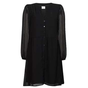 Odjeća Žene  Kratke haljine Vila VIAMIONE Crna