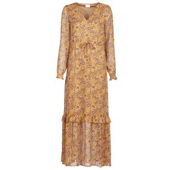 Odjeća Žene  Duge haljine Vila VIFALIA Boja konjaka