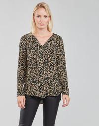 Odjeća Žene  Topovi i bluze Vila VILUCY Smeđa