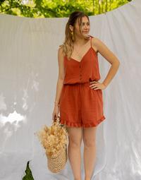 Odjeća Žene  Kombinezoni i tregerice Céleste NEROLI Terracotta