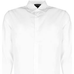 Odjeća Muškarci  Košulje dugih rukava Les Hommes  Bijela